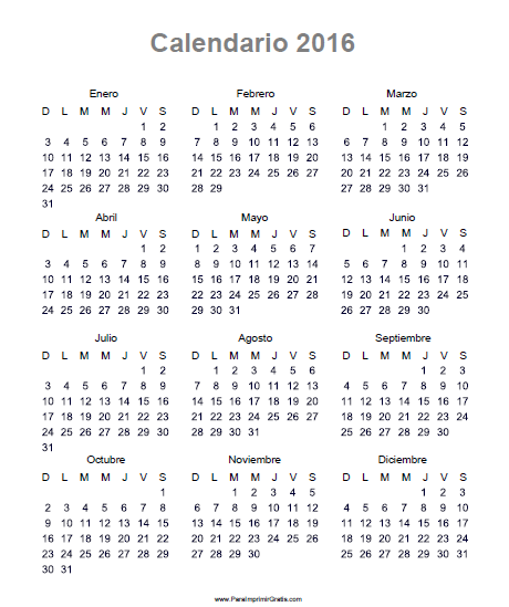 ... 2016 octubre 2016 noviembre 2016 diciembre 2016 calendarios para