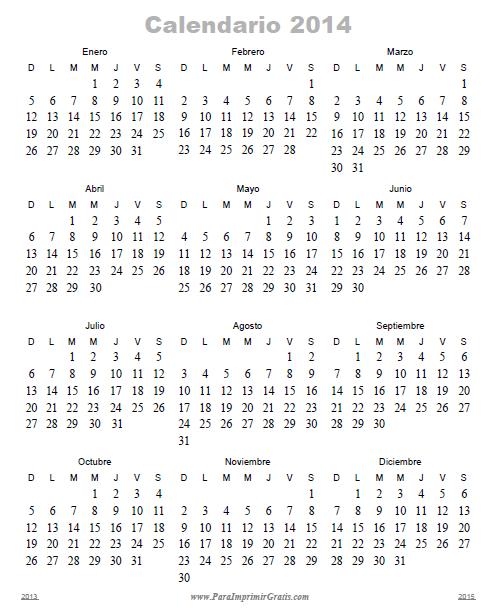 2014 octubre 2014 noviembre 2014 diciembre 2014 calendarios para
