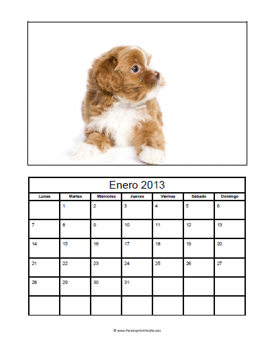 Calendarios con Fotos