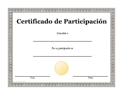 Diplomas De Particion Para Imprimir