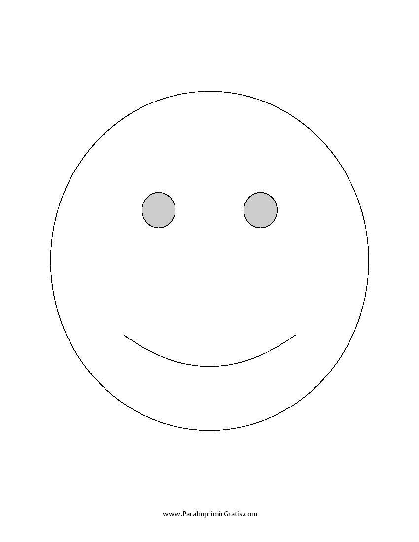 Carita Feliz - Para Imprimir Gratis - ParaImprimirGratis.com