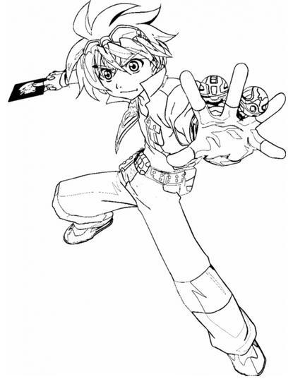 Dibujos de Bakugan para Imprimir