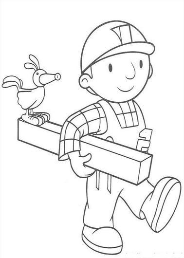 Dibujos de Bob el Constructor para Imprimir
