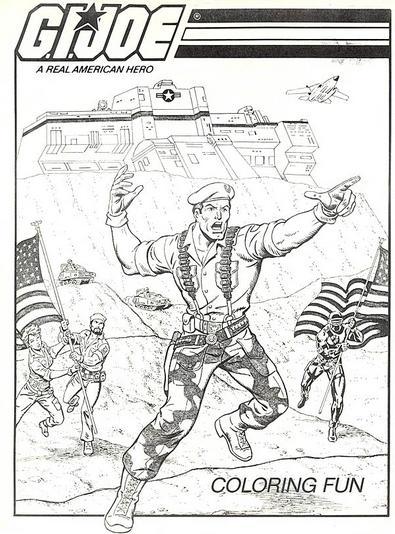 Dibujos de G.I. Joe para Imprimir