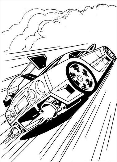 Dibujos de Hot Wheels para Imprimir