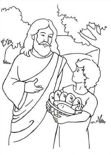 Dibujos de Jesus para Imprimir