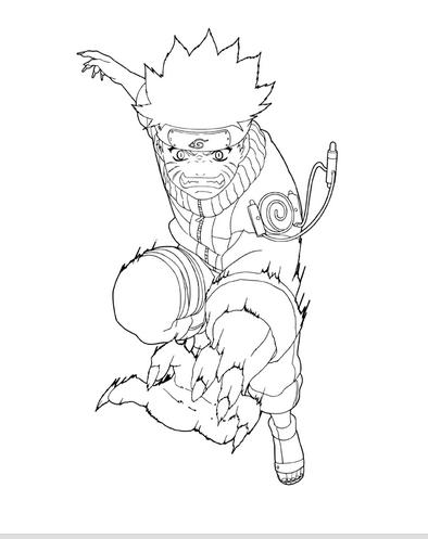 Dibujos de Naruto para Imprimir