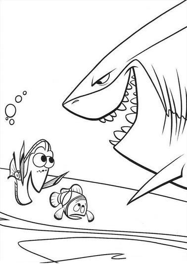 Dibujos de Nemo para Imprimir