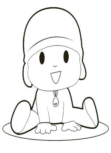 Dibujos de Pocoyo para Imprimir