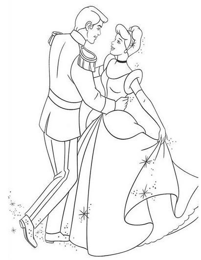 Dibujos de Princesas Disney para Imprimir