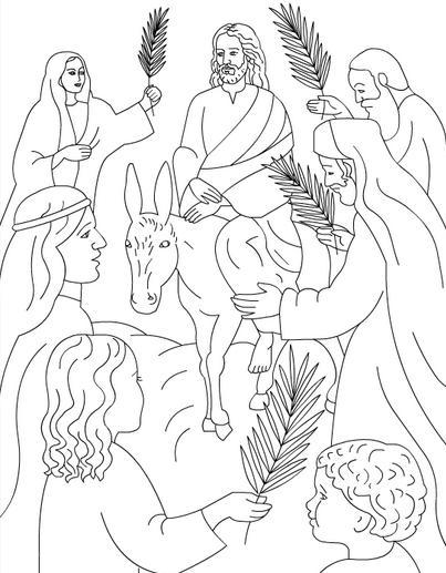 Dibujos de Semana Santa