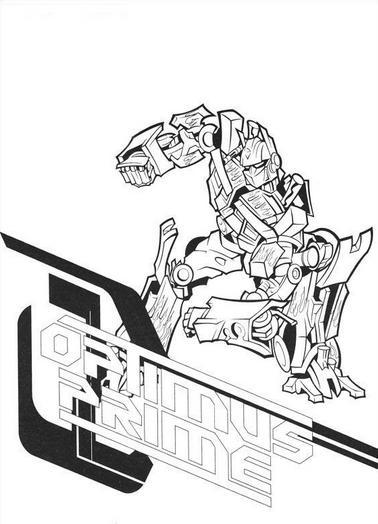 Dibujos de Transformers para Imprimir