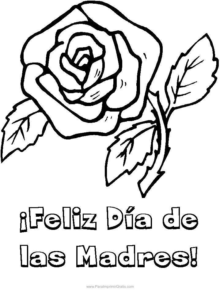 sheet mother day coloring pages
