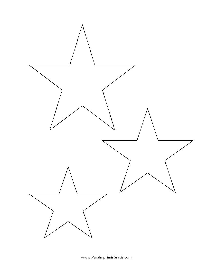 Estrellas Para Imprimir Gratis Paraimprimirgratiscom