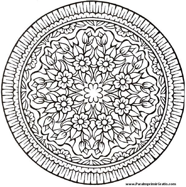 Dibujos De Mandalas Para Imprimir Gratis