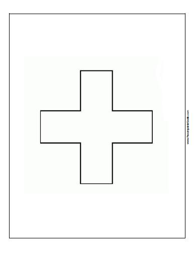 Bandera De Suiza Para Colorear Para Imprimir Gratis