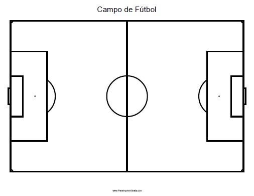 Campo de Fútbol - Para Imprimir Gratis - ParaImprimirGratis.
