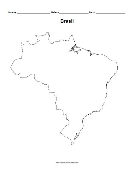 Mapa De Brasil Para Imprimir Gratis Paraimprimirgratiscom