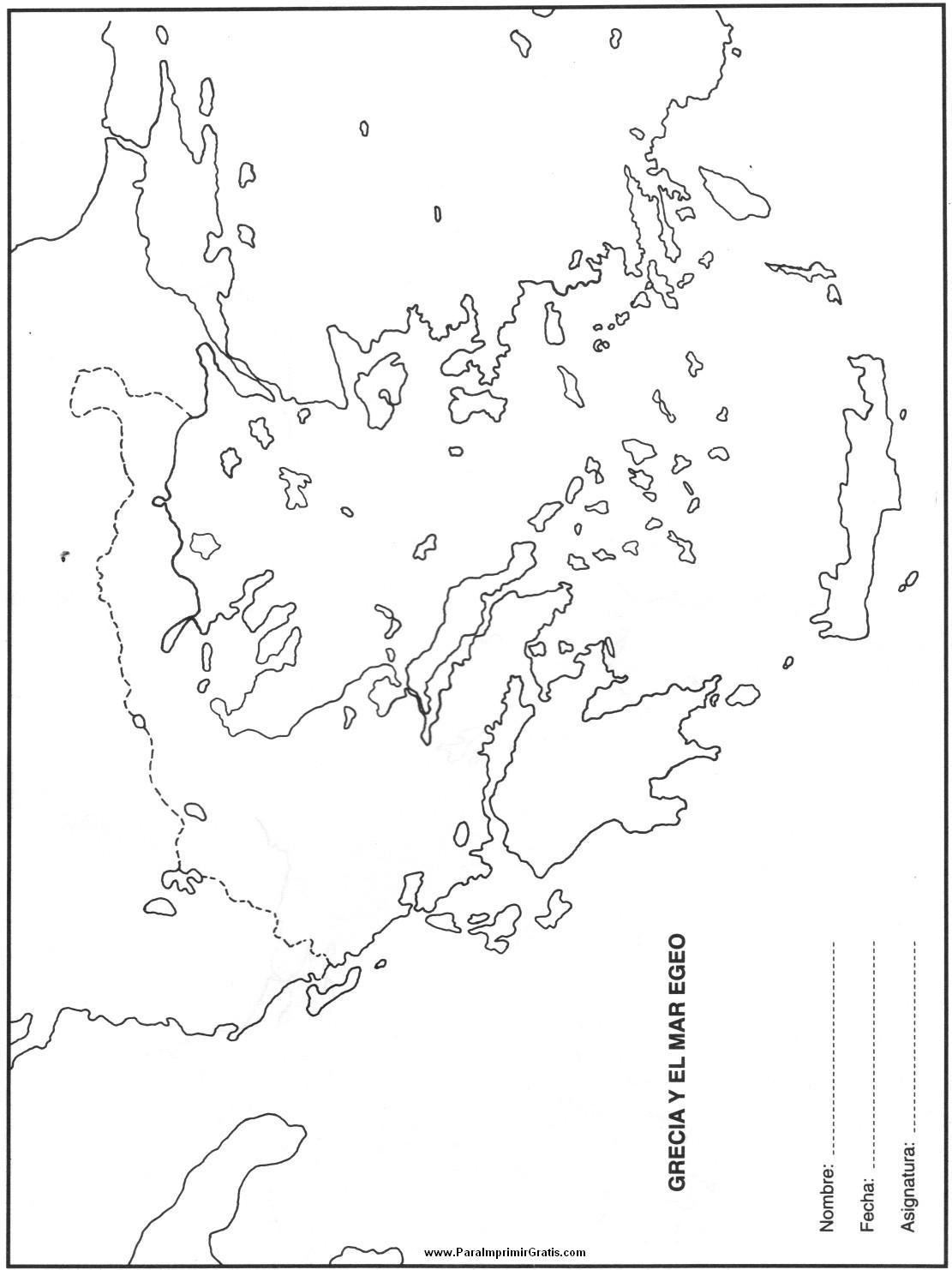 Mapa Mudo Grecia Antigua.Mapa De Grecia Para Imprimir Gratis Paraimprimirgratis Com