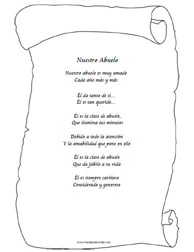 Poemas Para MI Abuelo