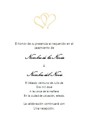 Invitaciones En Espanol Para Boda Wpart Co