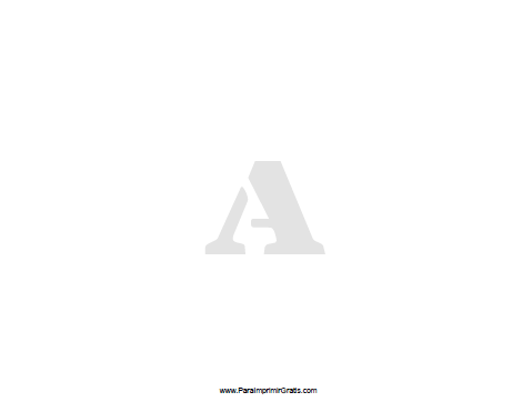 Stencil De Letras Para Imprimir Gratis Paraimprimirgratiscom